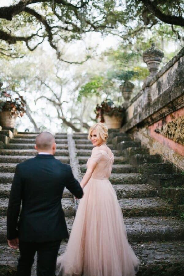 Áo cưới màu Pastel - Ảnh 1