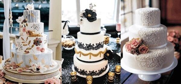 Top các mẫu bánh kem đám cưới đẹp nhất 2021