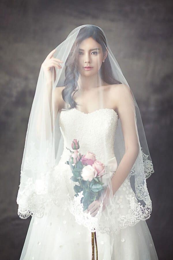 Váy cưới của cô dâu trong quan niệm đám cưới phương Tây