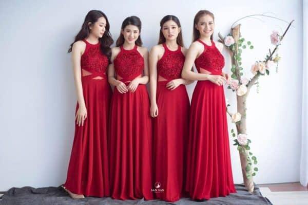 Thuê váy phù dâu tphcm ở Sansan Bridal - Ảnh 1
