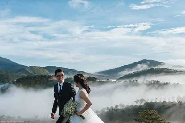 Chụp ảnh cưới ở đỉnh Tà Xùa - Sơn La